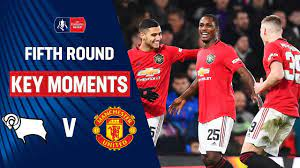 Video: Manchester United v Derby County FA Cup highlights