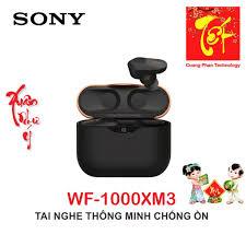Mã ELMALL7 giảm 7% đơn 499K] Tai Nghe Bluetooth Không Dây Chống Ồn Sony  WF-1000XM3 - Bảo Hành 12 Tháng Toàn Quốc tại TP. Hồ Chí Minh