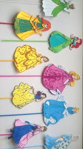 Princess Party Decoration Disney Princess Party Centerpiece Picks Princess Birthday