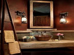 half bathroom ideas brown. half-bathroom-decor-rustic half bathroom ideas brown o