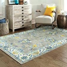 teal and yellow area rug s
