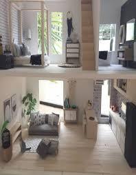 modern miniature furniture. Diy Dollhouse Furniture Modern Miniatures Miniature Chair Dolls House Kitchen
