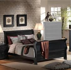 Black Furniture Bedroom Classical Wooden Drawer Chest Minimalist ...