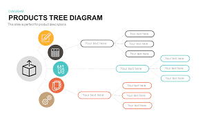 tree diagram powerpoint products tree diagram powerpoint and keynote template slidebazaar