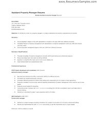 Job Description Template Word Mesmerizing Property Manager Resume Job Duties Residential Samples Free Sample