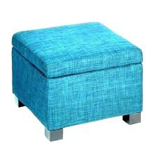 blue leather ottoman awesome navy cube chair large cocktail