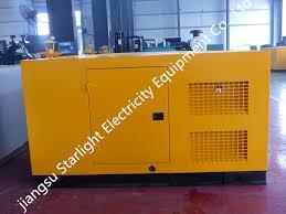 <b>China</b> Silent Generator <b>100kw</b> 125kVA <b>Soundproof</b> Diesel ...