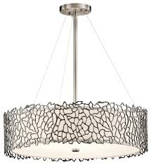 transitional silver c chandelier round pendant in classic pewter contemporary pendant lighting by lamp