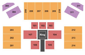 Hard Rock Etess Arena Seating Chart Mark G Etess Arena At Hard Rock Hotel Casino Tickets And