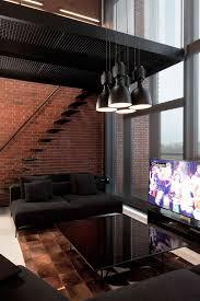 Dark Red Brick Interior Walls