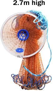 HEIFEN <b>Sea Fishing</b> Line Network Aluminium Ring <b>Hand Throwing</b> ...