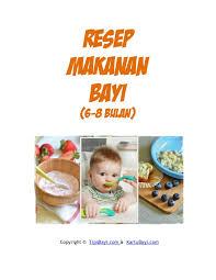 Sup daging sapi kacang merah (7 bln) enak lainnya. Resep Makanan Bayi 6 8 Bulan