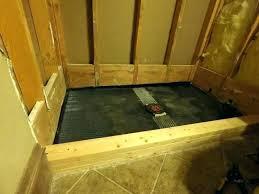 custom tile shower pans how to build a tile shower base building a tile shower floor custom tile shower pans how