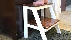 Wooden step stool with handle Holztritt Wood Step Wood Step Stool With Handle Plans Wood Step Ladder Canada Wood Step Wood Step Preschool Stairs Wood Step Stools Kitchen Helper Kids Step