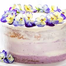Lemon Blueberry Cake Saving Room For Dessert