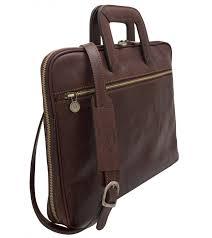 leather briefcase boston