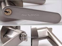 bathroom door locks interior door locks diffe types of interior door locks