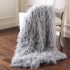 mongolian lamb throws aurora home faux fur throw area rugs