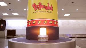 Bojangles Vending Machine Cool Travelers Are Greeted With Boxes Of Chicken At Baggage Claim In