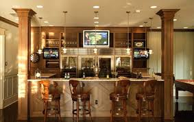 Wet Bar Ideas For Basement Designs Basements Corner Northmallowco Interesting Interior Design Basement Plans