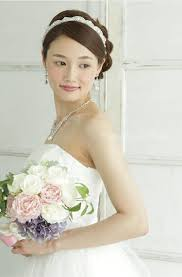 リボンカチューシャ ウェディング ブライダルアクセサリー 花嫁 ヘア
