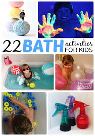 22 kids activities to make bath time more fun sponsored by sterling at b