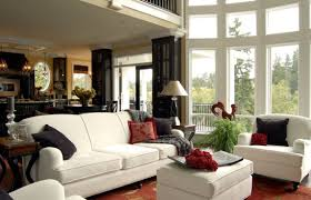 country living room designs. Delighful Designs Wonderful Interior Design Of Country Living Rooms With White Sofa Also Arm  Chair Room Designs U
