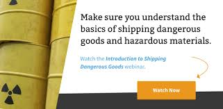 Adding Your Dangerous Goods Information To Shipping Solutions Export