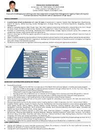 Resume For Logistics Manager Logistics Manager Resume Resume For