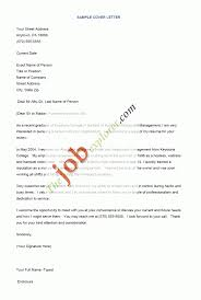 Sample Resume Cover Letters Templates Letter For Fresh Graduate How