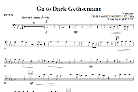 gethsemane sheet music go to dark gethsemane cello sheet music direct