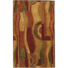 mohawk home picasso wine 5 ft x 8 ft area rug
