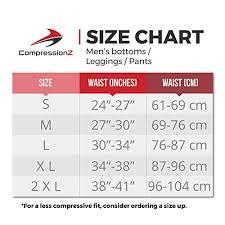 Drskin Compression Size Chart Mens Compression Pants Workout Leggings For Gym