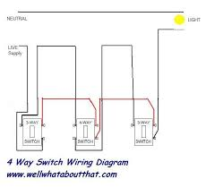 way light switch wiring image wiring diagram 4 way switch to light wiring diagram schematics baudetails info on 4 way light switch wiring