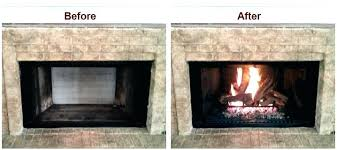 gas fireplace conversion interior cool wood to converting burning stove logs convert majestic conver