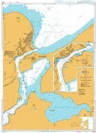 British Admiralty Nautical Chart 2354 Baltic Sea Germany