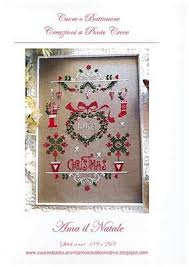Amazon Com Ama Il Natale Love Christmas Cross Stitch
