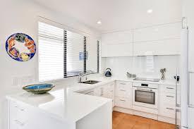 compact white kitchen