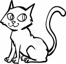 black and white cat clipart. Inside Black And White Cat Clipart