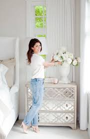 mirrored furniture room ideas. bedside mirrored table by lane furniture jillian harris website room ideas