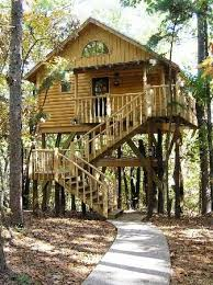 239 Best Whimsical Playhouses Images On Pinterest  Playhouse How To Build A Treehouse For Adults