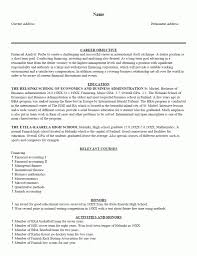 9 One Page Resume Examples Assistant Cover Letter Resume Template