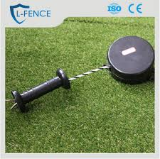 farm fence gate. Retractable Electric Fence Tape Gate Handle For Farm