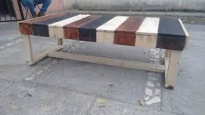 Pallet Deck Furniture Painting