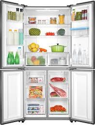 Tủ lạnh Aqua AQR-IGW525EM(GD) màu xám lấy nước ngoài