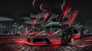 laferrari fantasy crystal city energy car