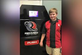 Vending Machine Technician Interesting Teen Entrepreneur Raises 48K To Create Firstaid Vending Machine