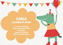 Invitaciones De Cumpleaños Infantiles Invitaenunclic Invitaenunclic
