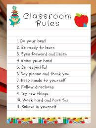classroom rules template classroom rules template for teachers hang in your classroom as
