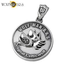 sies rosso wolfman b r s pendant top las men silver wolf coin 925 sterling silver wo p 096 rakuten global market